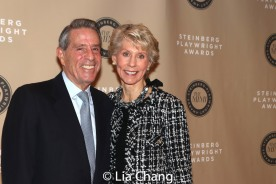 Michael Steinberg and Joan Steinberg. Photo by Lia Chang