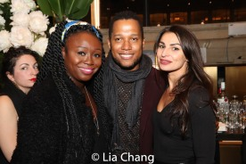 Jocelyn Bioh, Branden Jacobs-Jenkins and Martyna Majok. Photo by Lia Chang