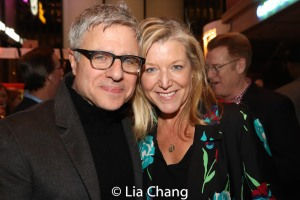 Neil Pepe and Mary McCann. Photo by Lia Chang