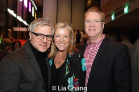 Neil Pepe, Mary McCann, Jeffory Lawson. Photo by Lia Chang