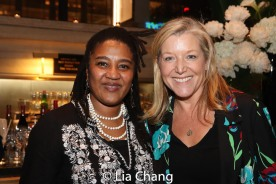 Lynn Nottage and Mary McCann. Photo by Lia Chang