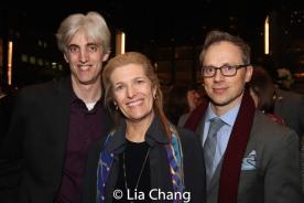 Zak Berkman and guests. Photo by Lia Chang
