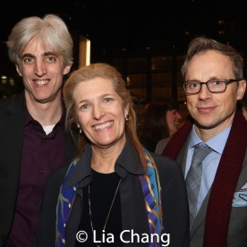Zak Berkman and guests. Photo by Lia Chang