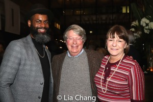 Lincoln Center Theater Artistic Director André Bishop and guests. Photo by Lia Chang