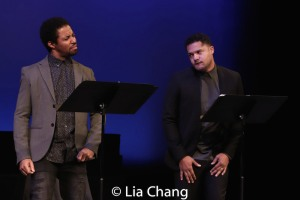 Amari Cheatom and Brandon J. Dirden. Photo by Lia Chang