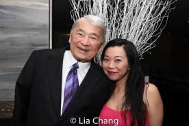 Alvin Ing and Yuka Takara. Photo by Lia Chang