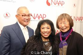 Arlan Huang, Baayork Lee and Lillian Huang. Photo by Lia Chang