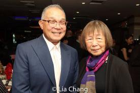 Arlan Huang and Lillian Ling. Photo by Lia Chang