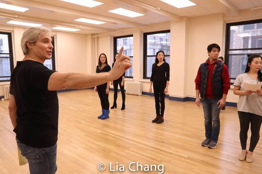 Alex Sanchez, Sally Hong, Sandra Allen, Jodi Long, Telly Leung and Yuka Takara. Photo by Lia Chang