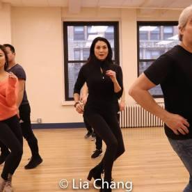 Ashley Park, Paul HeeSang Miller, Sandra Allen and Alex Sanchez. Photo by Lia Chang