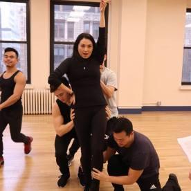 Jason Garcia Ignacio, Warren Yang, Sandra Allen, Joomin Hwang and Paul HeeSang Miller. Photo by Lia Chang
