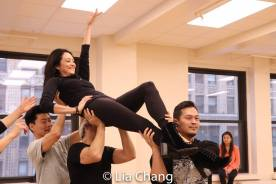 -Joomin Hwang, Sandra Allen, Alex Sanchez and Paul HeeSang Miller. Photo by Lia Chang