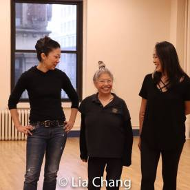 Lainie Sakakura, Paula Wong and Sally Hong. Photo by Lia Chang