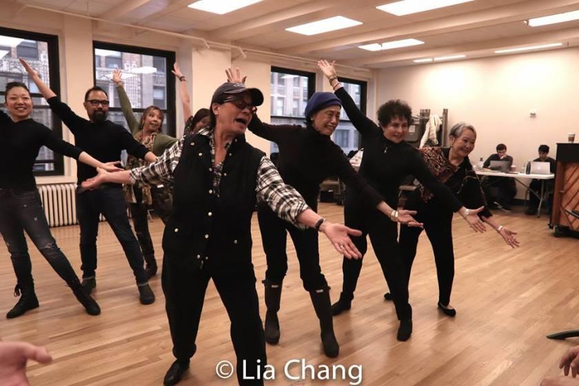 Lainie Sakakura, Robert Tatad, Susan Ancheta, Vicki Racimo, Mae Wong, Carol Gordon Morra and Takayo Fischer. Photo by Lia Chang