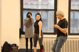 Lia Chang, Yuka Takara and Alex Sanchez. Photo by Lia Chang