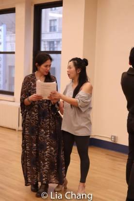 Ma-Anne Dionisio and Yuka Takara. Photo by Lia Chang
