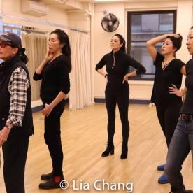 Paula Chin, Victoria Racimo, Jodi Long, Sandra Allen, Sally Hong, Lainie Sakakura. Photo by Lia Chang