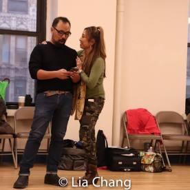Robert Tatad and Susan Ancheta. Photo by Lia Chang