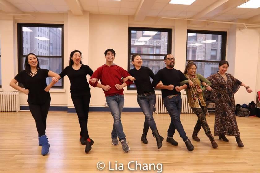 Sally Hong, Jodi Long, Telly Leung, Lainie Sakakura, Robert Tatad, Susan Ancheta and Ma-Anne Dionisio. Photo by Lia Chang