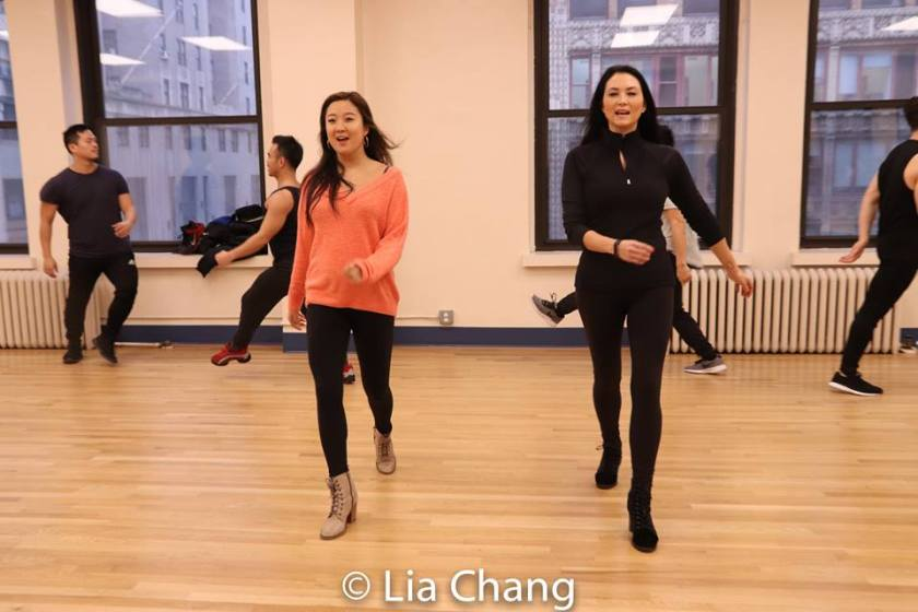 Ashley Park and Sandra Allen. Photo by Lia Chang