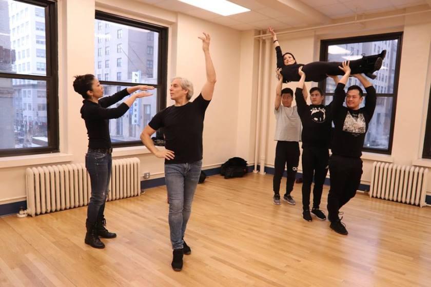 Lainie Sakakura, Alex Sanchez, Sandra Allen, Joomin Hwang, Warren Yang and Paul HeeSang Miller. Photo by Lia Chang