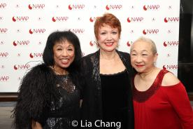Baayork Lee, Donna McKechnie and Lori Tan Chinn. Photo by Lia Chang