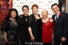 Baayork Lee, Nina Zoie Lam, Donn McKechnie, Lori Tan Chinn and Steven Eng. Photo by lia Chang