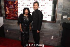 Baayork Lee and David Henry Hwang. Photo by Lia Chang