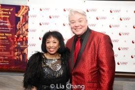 Baayork Lee and Richard Skipper. Photo by Lia Chang