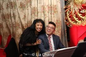 Baayork Lee and Steven Cuevas. Photo by Lia Chang