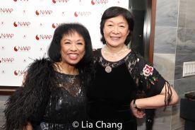 Baayork Lee and Tisa Chang. Photo by Lia Chang