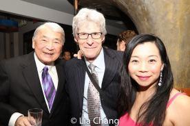 Alvin Ing, Ted Chapin and Yuka Takara. Photo by Lia Chang