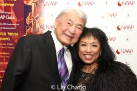 Alvin Ing and Baayork Lee. Photo by Lia Chang