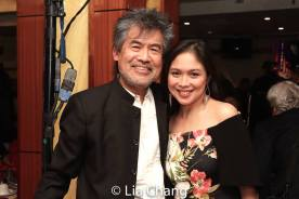 David Henry Hwang and Ma-Anne Dionisio. Photo by Lia Chang