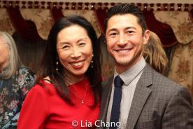 Jodi Long and Rich Ceraulo. Photo by Lia Chang