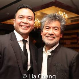 Jose Llana and David Henry Hwang. Photo by Lia Chang