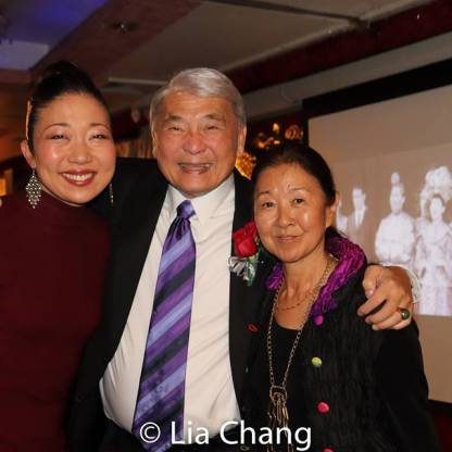 Lainie Sakakura, Alvin Ing and Susan Kikuchi. Photo by Lia Chang