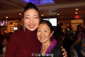 Lainie Sakakura and Susan Kikuchi. Photo by Lia Chang