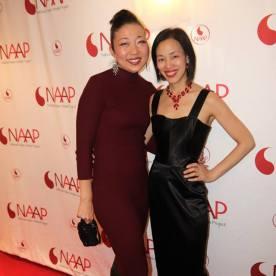 Lainie Sakakura and Lia Chang. Photo by Garth Kravits