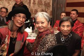Nobuko Miyamoto, Takayo Fischer and Wai Ching Ho. Photo by Lia Chang