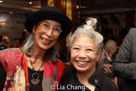 Nobuko Miyamoto and Paula Chin. Photo by Lia Chang