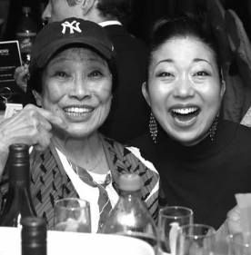 Pat Suzuki and Lainie Sakakura. Photo by Lia Chang