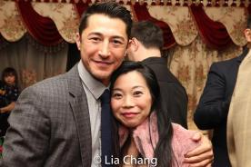 Rich Ceraulo and Yuka Takara. Photo by Lia Chang