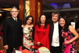 Robert Longbottom, Ma-Anne Dionisio, Jodi Long, David Henry Hwang and Lisa Yuen. Photo by Lia Chang