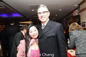 Yuka Takara and Robert Longbottom. Photo by Lia Chang