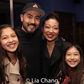 Avelina Sanchez, Marcus Choi, Lainie Sakakura and Isa Sanchez. Photo by Lia Chang