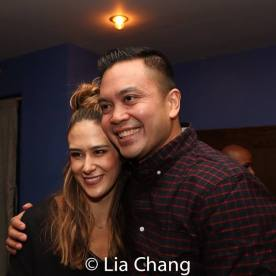 Erika Hunter and Jose Llana. Photo by Lia Chang