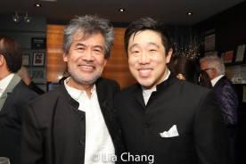 David Henry Hwang and Raymond J. Lee. Photo by Lia Chang