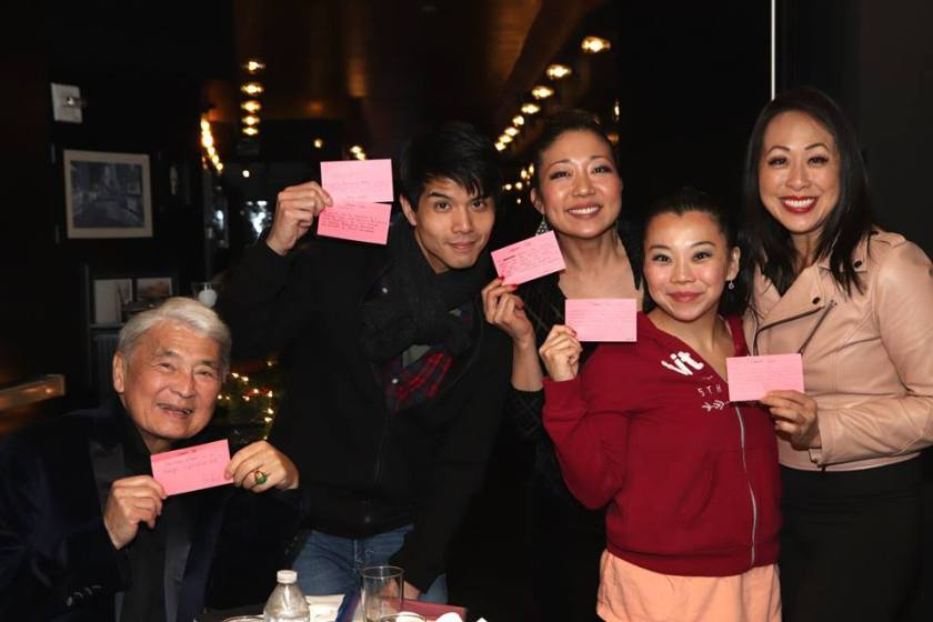 Alvin Ing, Telly Leung, Lainie Sakakura, Yuka Takara and Sally Hong. Photo by Lia Chang