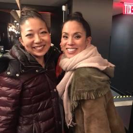 Lainie Sakakura and Emily Hsu. Photo by Lia Chang